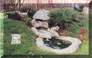 Viola center for Vasche vetroresina per laghetti