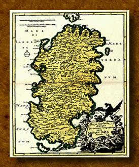 Cartina Antica Sardegna.Antica Cartografia Della Sardegna Le Carte Geografiche Della Sardegna