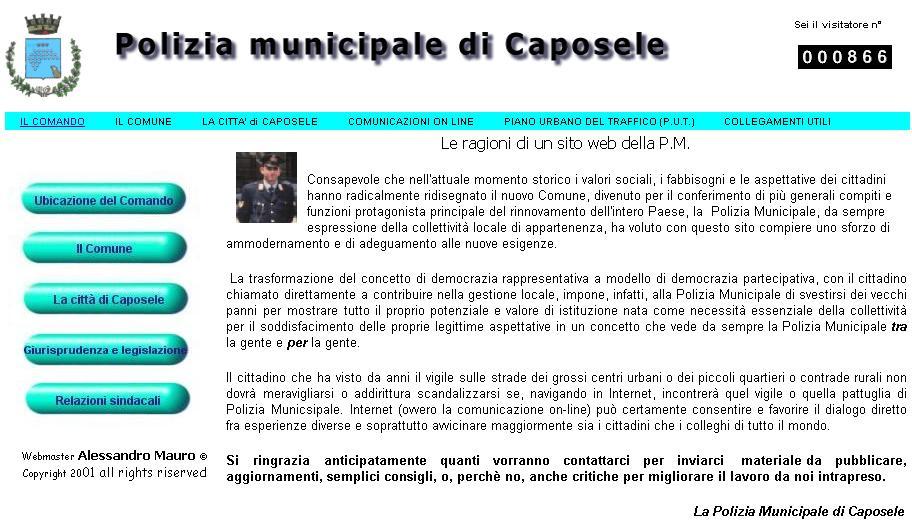 logo_Polizia Municipale di Caposele