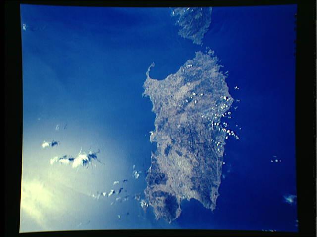 Cartina Sardegna Satellite.Sardegna