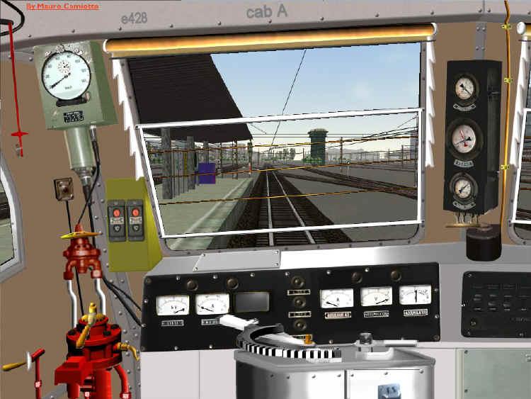 E428 virtuali for Planimetrie della cabina di log
