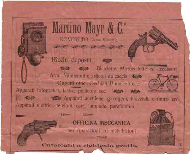 Armeria mayr via maccani 205 trento italia for Arredo bagno trento via maccani