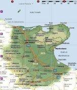 Clic per ingrandire la Cartina geografica della provincia di Foggia