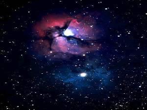 M20 - La nebulosa Trifida nella costellazione del Sagittario. Al suo interno sono in fase di formazione nuove stelle.
